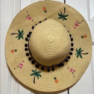 Betsey Johnson Straw Hat